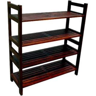 Handmade D-Art Veranda 4-tier Shelf (Indonesia)