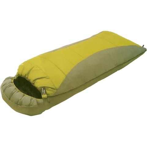 High Peak Outdoors Comfort Lite 20-degree Green Extra Long Sleeping Bag