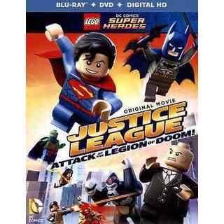 LEGO DC Super Heroes: Justice League: Attack of The Legion of Doom! (No Figurine) (Blu-ray/DVD)