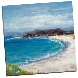 Portfolio Canvas Decor 'Coastal View' Van Matino 24-inch x 24-inch Wrapped Canvas Wall Art