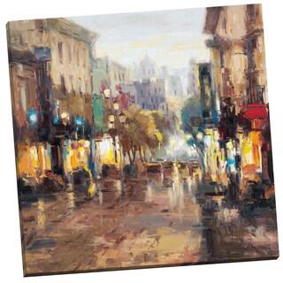 Portfolio Canvas Decor 'French Quarter' Lawson 24-inch x 24-inch Wrapped Canvas Wall Art