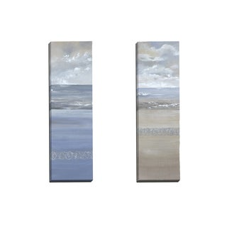 Portfolio Canvas Decor 'Ocean Calm I' Angellini 12-inch x 36-inch Wrapped Canvas Wall Art