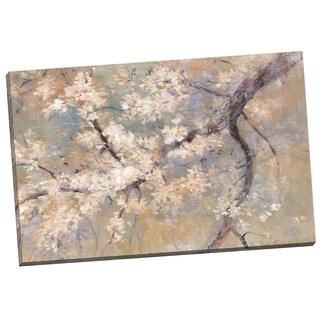 Portfolio Canvas Decor 'Poetry in Blossom' Dawna Barton 24-inch x 36-inch Wrapped Canvas Wall Art