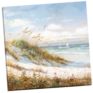 Portfolio Canvas Decor 'Sea Breeze I' Robin Scott 24-inch x 24-inch Wrapped Canvas Wall Art
