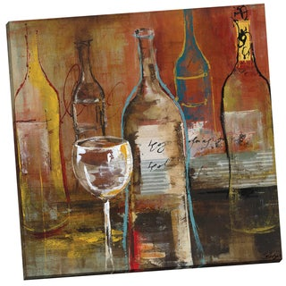 Portfolio Canvas Decor 'Wine Cellar II' Bridges 24-inch x 24-inch Wrapped Canvas Wall Art