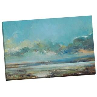 Portfolio Canvas Decor 'Stormy Blues I' Elinor Luna 24-inch x 36-inch Wrapped Canvas Wall Art