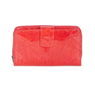 Scully Women's Leather Wallet Red