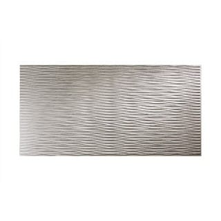 Fasade Dunes Horizontal Argent Silver 4-foot x 8-foot Wall Panel