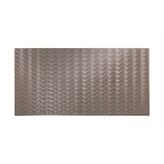 Fasade Current Horizontal Galvanized Steel 4-foot x 8-foot Wall Panel