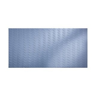 Fasade Current Horizontal Thistle 4-foot x 8-foot Wall Panel