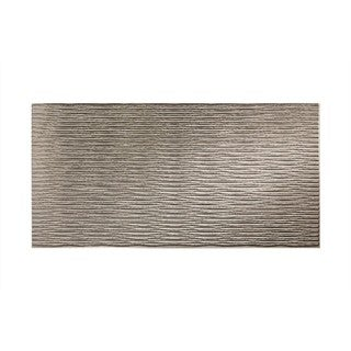 Fasade Dunes Horizontal Galvanized Steel 4-foot x 8-foot Wall Panel