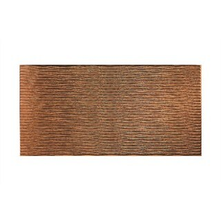 Fasade Dunes Horizontal Antique Bronze 4-foot x 8-foot Wall Panel
