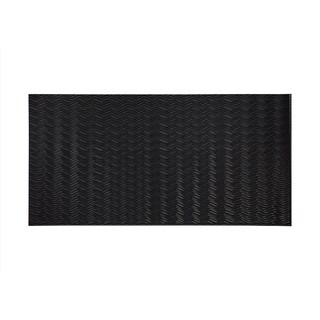 Fasade Current Horizontal Black 4-foot x 8-foot Wall Panel