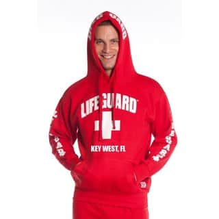 Official Lifeguard Men's Key West Hoodie (Option: Red)|https://ak1.ostkcdn.com/images/products/10540795/P17621557.jpg?impolicy=medium