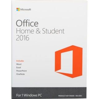 Microsoft Office 2016 Home & Student - Box Pack - 1 PC - Non-commerci