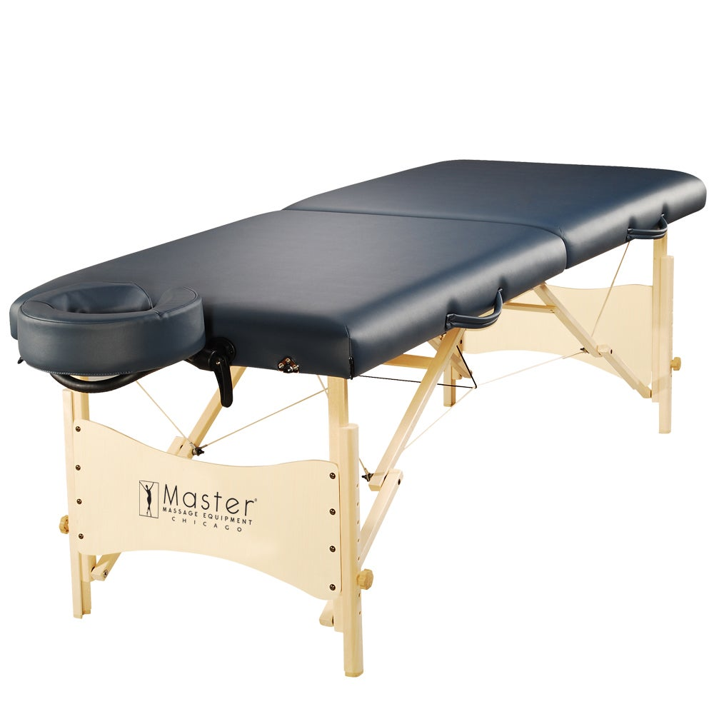 Master Massage 25-inch Skyline Portable Massage Table, Bl...