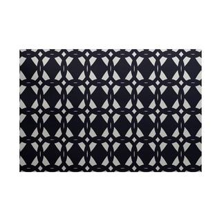 Geo-craze Geometric Print Rug (3' x 5')