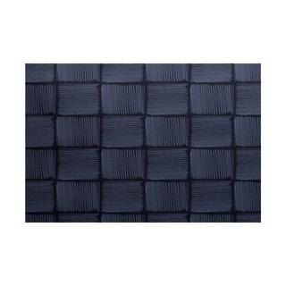 Basketweave Geometric Print Rug (3' x 5')