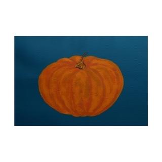 Li'l Pumpkin Holiday Print Rug (3' x 5')
