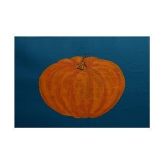 Li'l Pumpkin Holiday Print Rug (4 x 6')