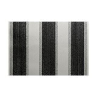 Striate Stripe Print Rug (3' x 5')