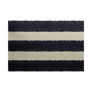 Twisted Stripe Print Rug (4 x 6')