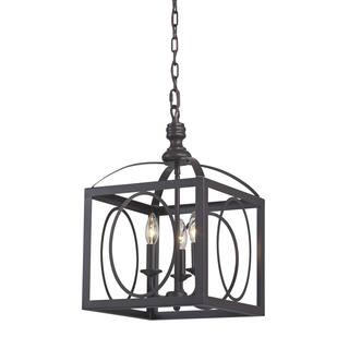 Sterling Ailsa Ringed 3-light Cluster Lantern