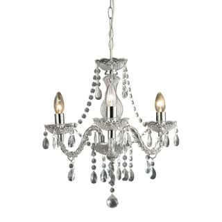 Mini chandeliers for less overstock sterling theatre 3 light clear mini chandelier aloadofball Choice Image
