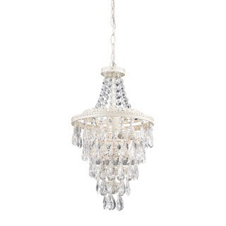 Sterling Clear Crystal Pendant Lamp