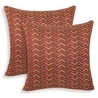 Mona Woven Geometric Toss Pillow (Set of 2)