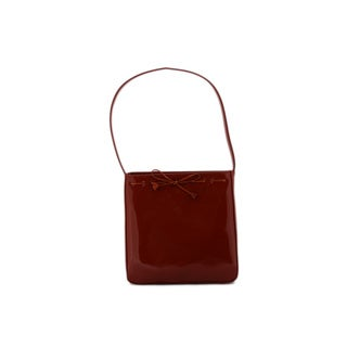 24/7 Comfort Apparel Faux Leather Shoulder Bag