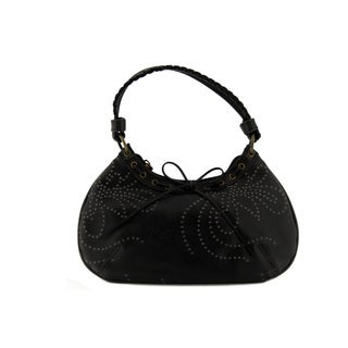 24/7 Comfort Apparel Boho Woven Design Shoulder bag
