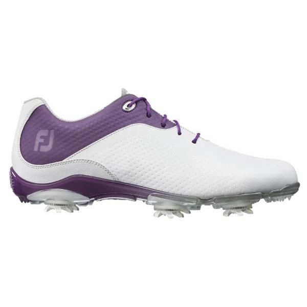 FootJoy Ladies D.N.A. Golf Shoes 94822 White/purple