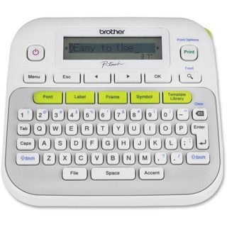 Brother P-Touch PT-D210 Label Maker - Thermal Transfer - Monochrome -