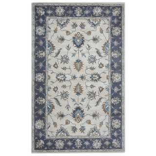 Arden Loft Crown Way Natural/ Charcoal Grey Oriental Hand-tufted Wool Area Rug (10' x 14')