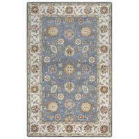 Arden Loft Crown Way Grey/ Natural Oriental Hand-tufted Wool Area Rug (10' x 14')