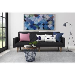 DHP Paxson Black Linen Futon|https://ak1.ostkcdn.com/images/products/10542147/P17622593.jpg?impolicy=medium