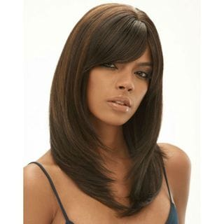 Janet Collection 14-inch 100-percent Human Hair Natural Perm Yaki
