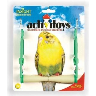JW Pet Insight Bird Double Mirror Swing