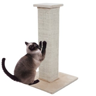 Petmaker Off-white Sisal Burlap Cat Scratching Post