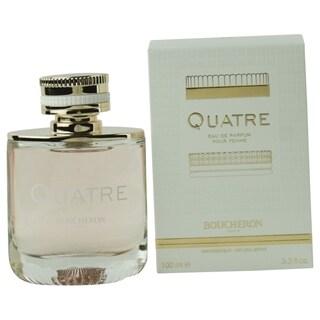 Boucheron Quatre Women's 3.4-ounce Eau de Parfum Spray