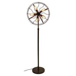 Carbon Loft Hargreaves Industrial Floor Lamp