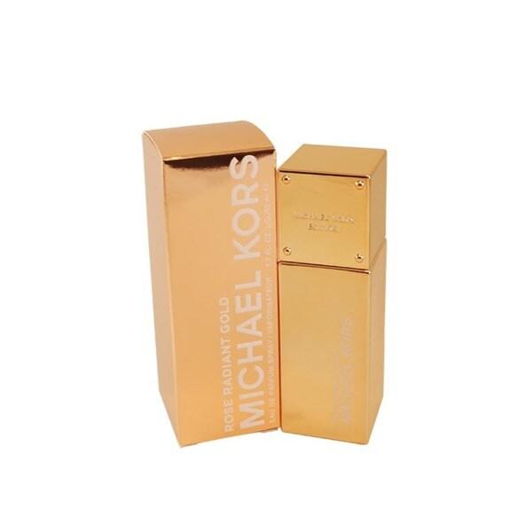2dd6535ea6fa Shop Michael Kors Rose Radiant Gold Women s 1.7-ounce Eau de Parfum ...