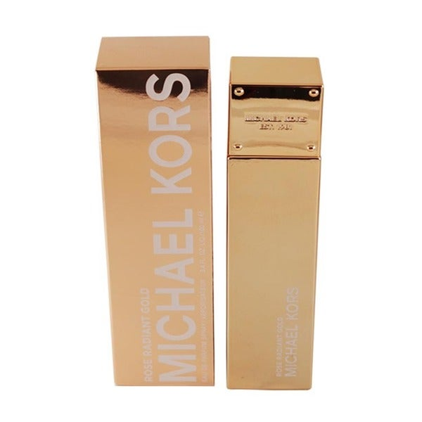 e1cb73fa0673 Shop Michael Kors Rose Radiant Gold Women s 3.4-ounce Eau de Parfum Spray -  Free Shipping Today - Overstock - 10542715