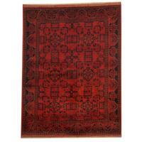 Handmade Herat Oriental Afghan Tribal Khal Mohammadi Wool Rug (Afghanistan) - 4'10 x 6'5