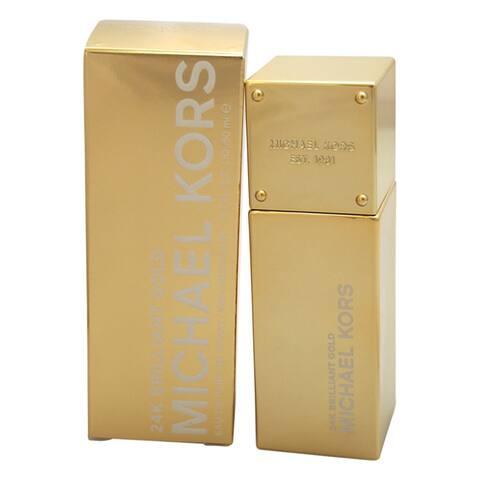 Michael Kors 24k Brilliant Gold Eau De Parfum Spray 1.7 Oz. / 50 Ml
