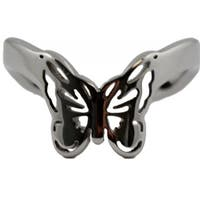 Stainless Steel Butterfly Thumb Ring