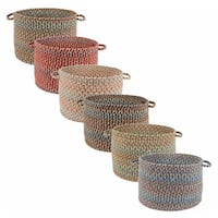 Cozy Cove 18x12-inch Basket by Rhody Rug