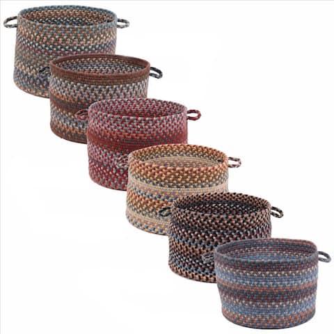 Rhody Rug Augusta 18 x 12-inch Basket