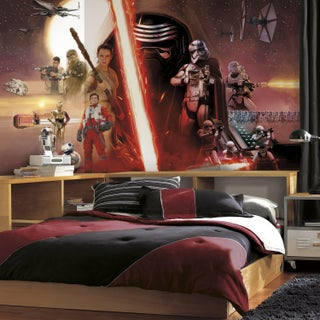 Roomates Star Wars Episode VII: The Force Awakens Prepasted Surestrip Mural